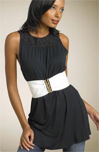 cinched waist
