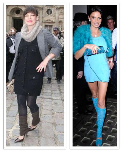 celebrity leg warmers