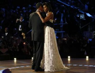 Michelle Obama's Inaugural Ball Gown – Exquisite!