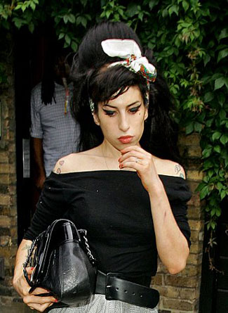 amy winehouse headband