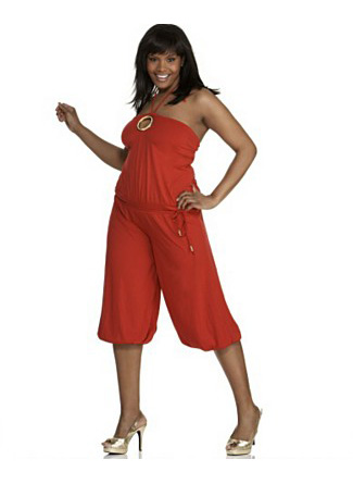 Romper for the Plus-Size Girl