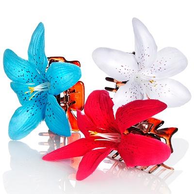 Flower hair accessories mightylinksfo