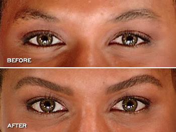 Anastasia Eyebrow Kit Before and After
