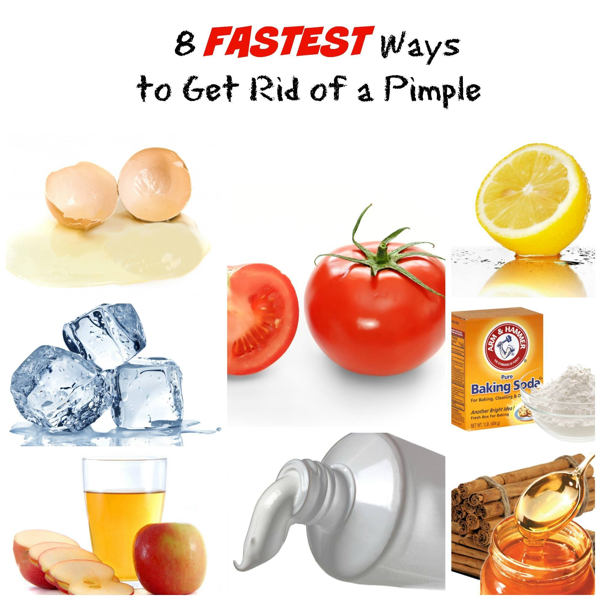 8 Fastest Ways To Get Rid Of A Pimple