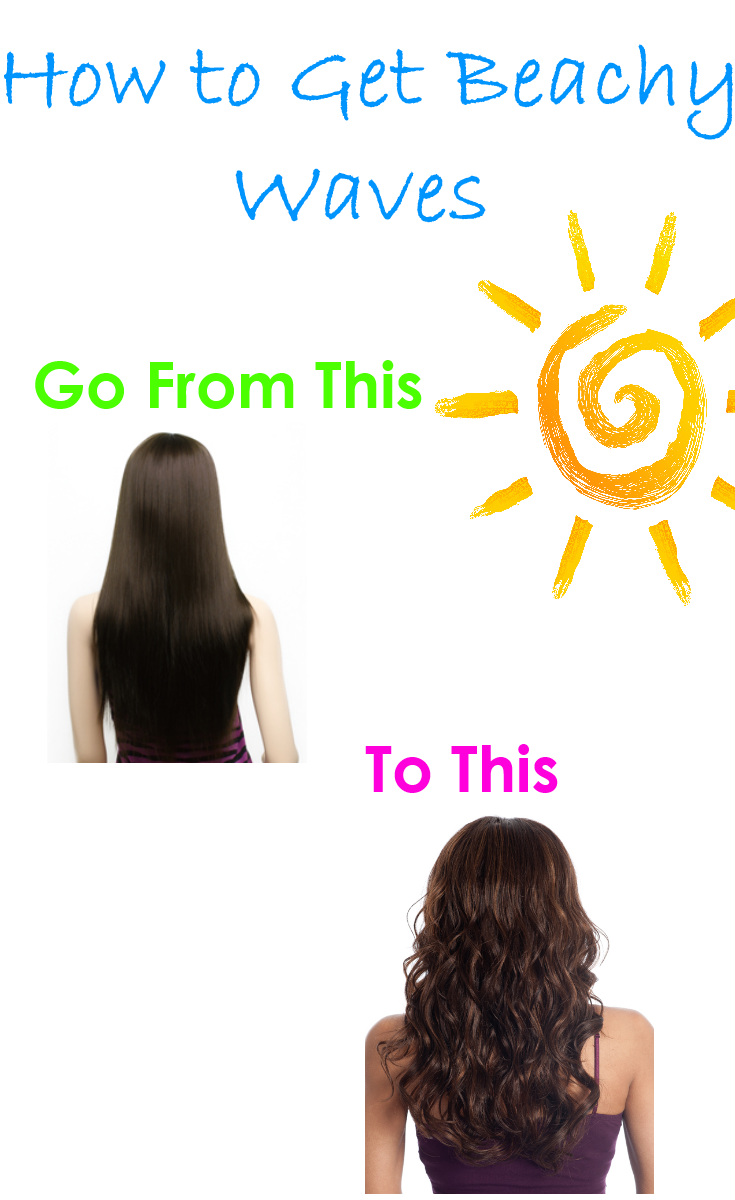 How to Get Beachy Waves in Two Easy Steps