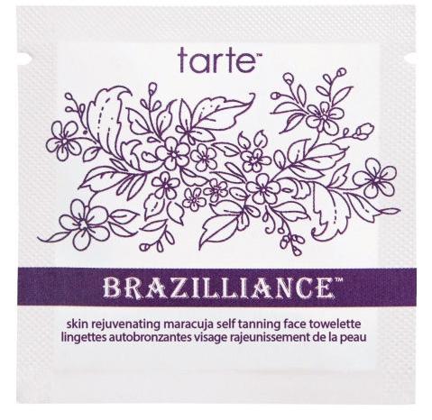 brazilliance skin rejuvenating maracuja self tanning face towelettes