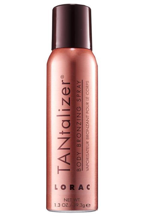 lorac tantalizer body bronzing spray