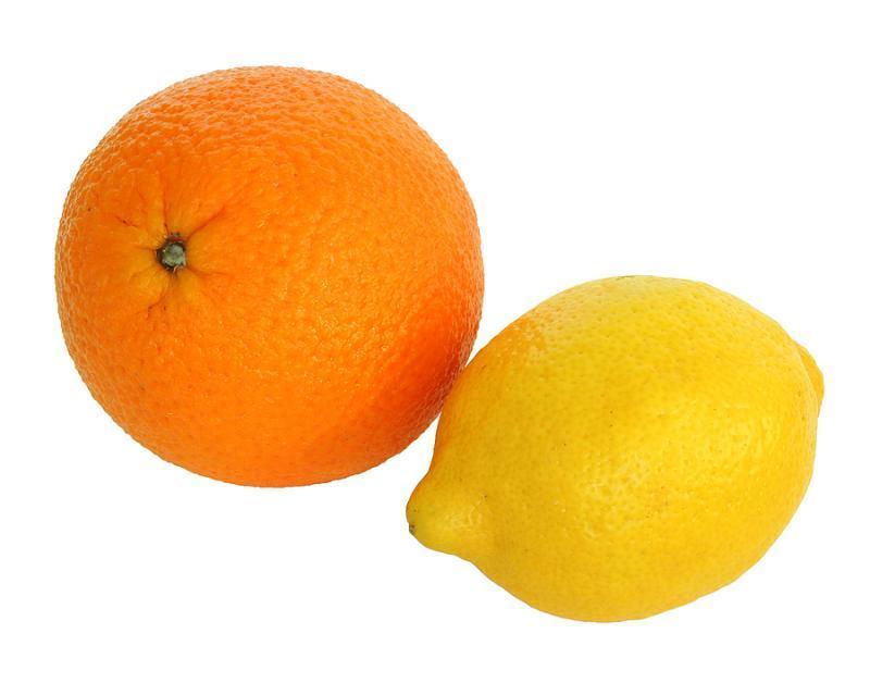orange or lemon