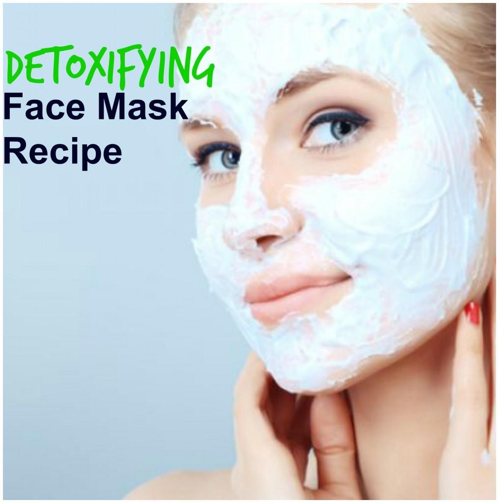 detoxifying face mask
