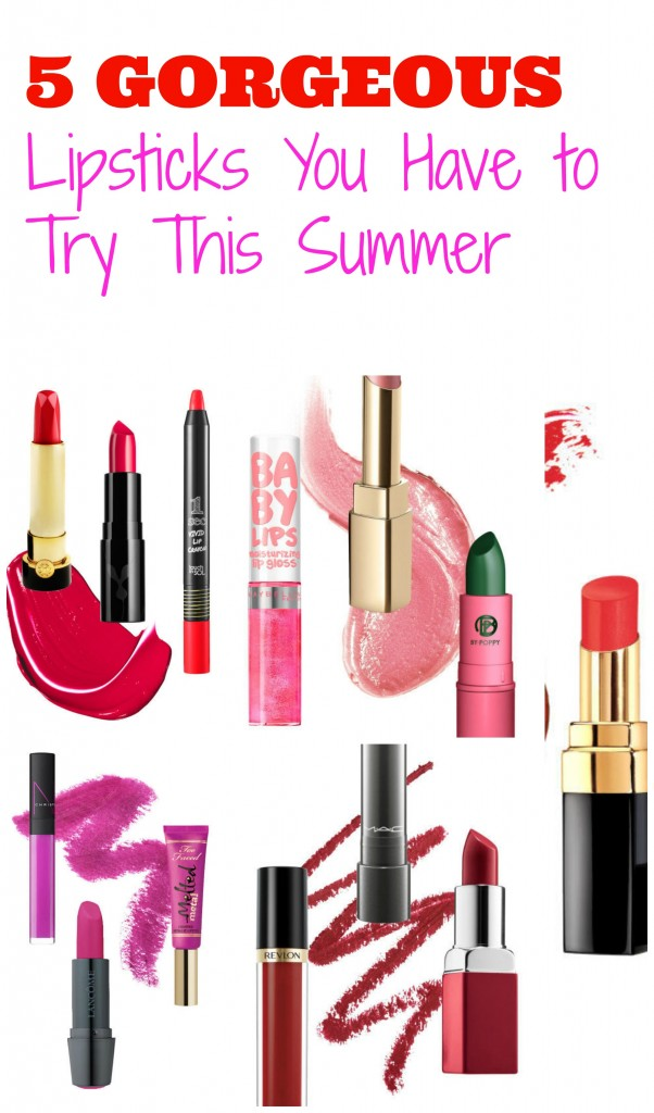lipsticks for summer