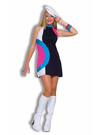 60s mod halloween costume