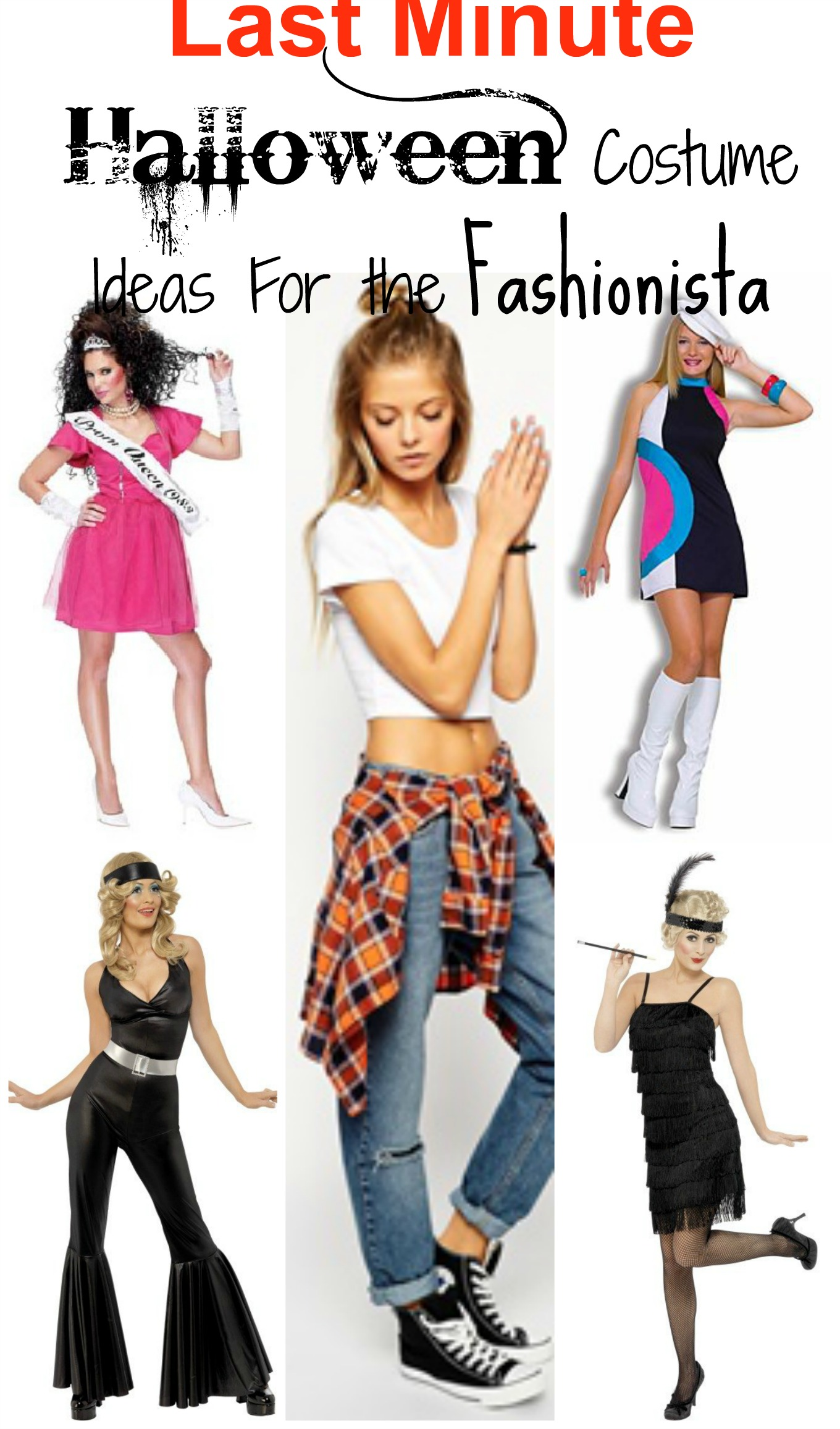5 last minute halloween costume ideas for the fashionista for 5 minute halloween decorations