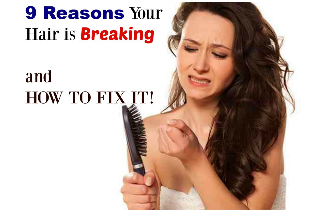 fix breaking hair
