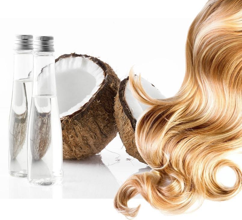 coconut oil for breaking hair