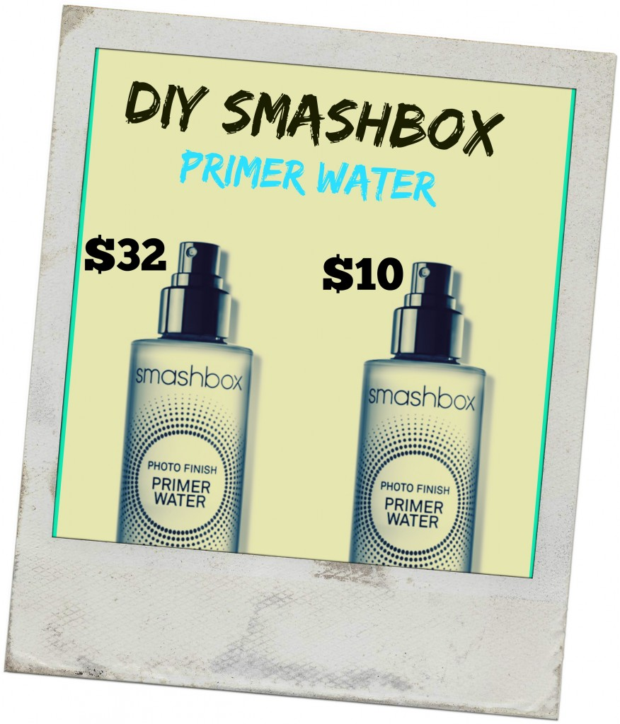 make your own smashbox primer water