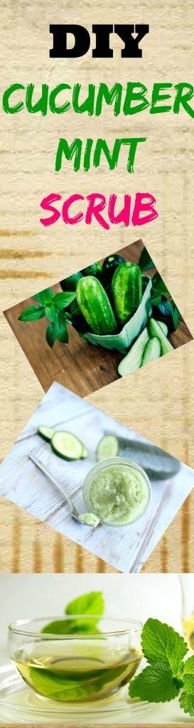 cucumber mint scrub