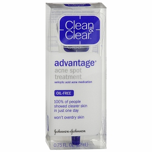 how to use clean and clear advantage acne spot treatment