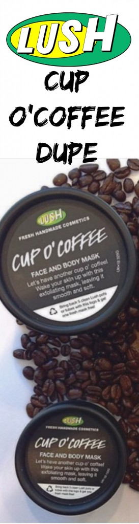 lush cup o'coffee dupe