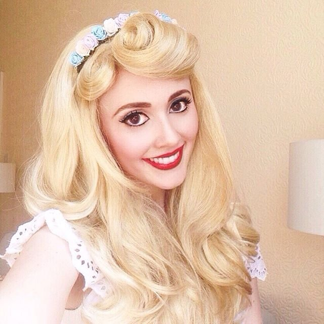 aurora sleeping beauty hair tutorial