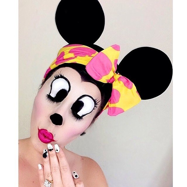 Disney Halloween Costume And Makeup Ideas