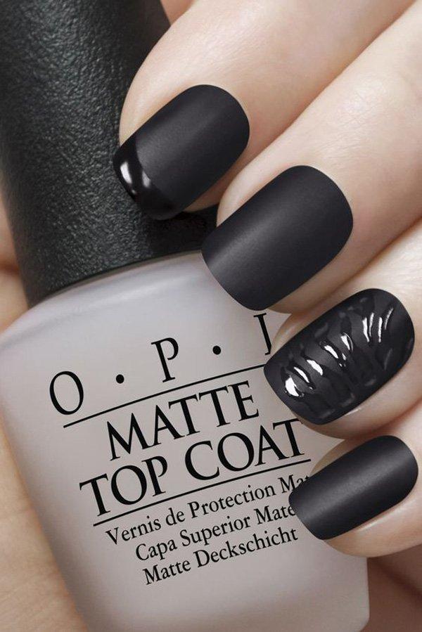 2016 Fall Trend: Matte Nails