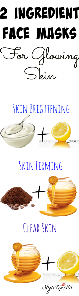 2 ingredient face masks