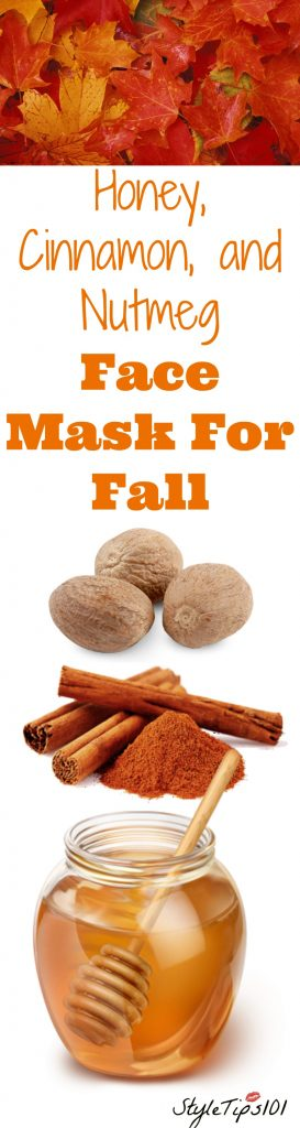 nutmeg face mask