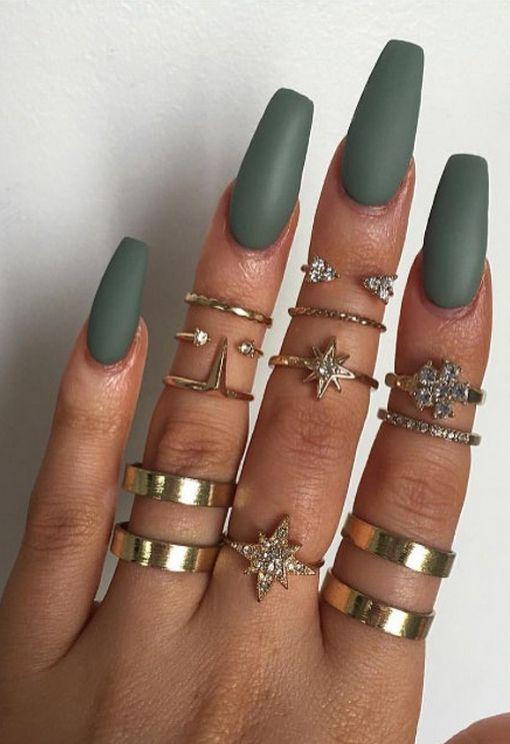 matte-green