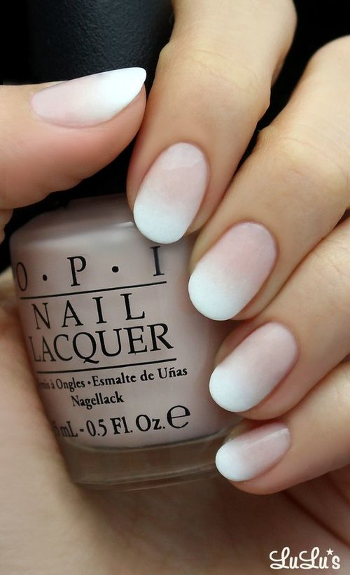 White Ombre Nails - Trendy Nail Designs To Copy Right Now