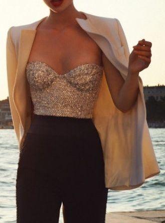sequin-corset