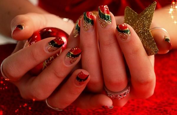 xmas-nails