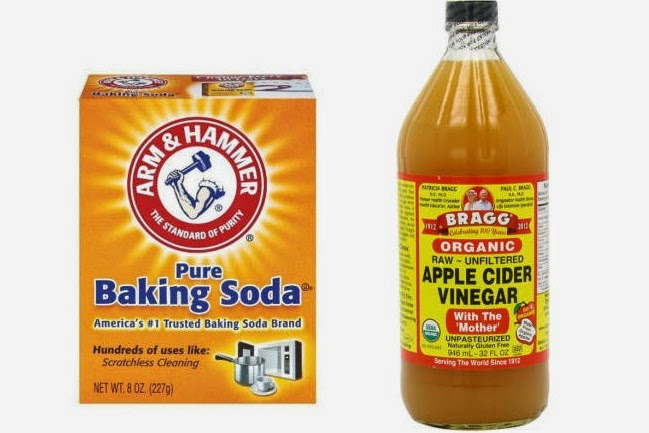 Baking Soda And Vinegar Hair Wash Method