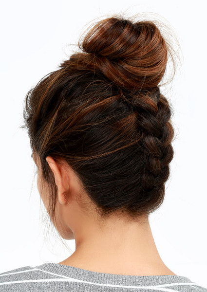 braid-chignon