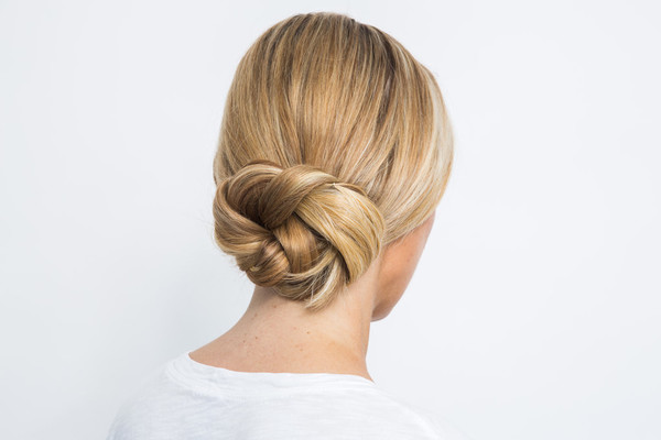 Easy Hairstyles Anyone Can Pull Off - Croissant hairstyle bun