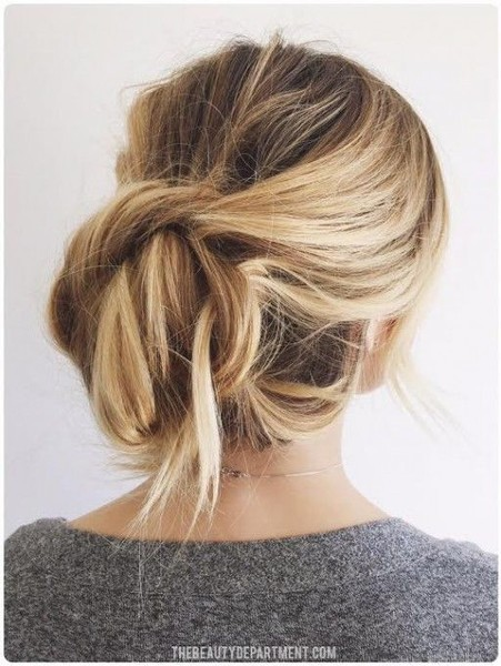 low-messy-bun
