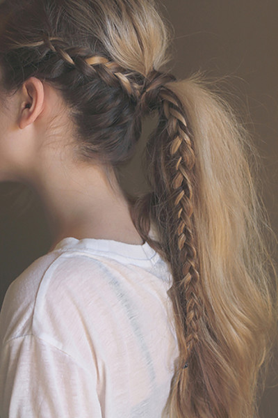 messy-pony-braid