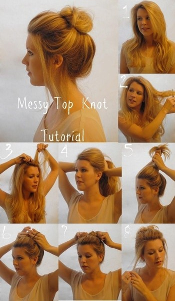 messy-top-knot-tutorial