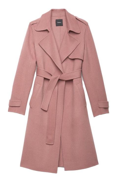 2017 winter coats trends - double faced wool coat