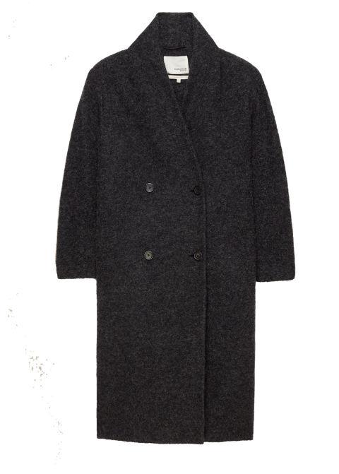 2017 winter coats trends - long black coat