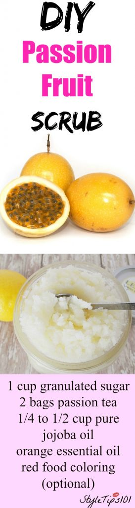 Passion Fruit Sugar Scrub