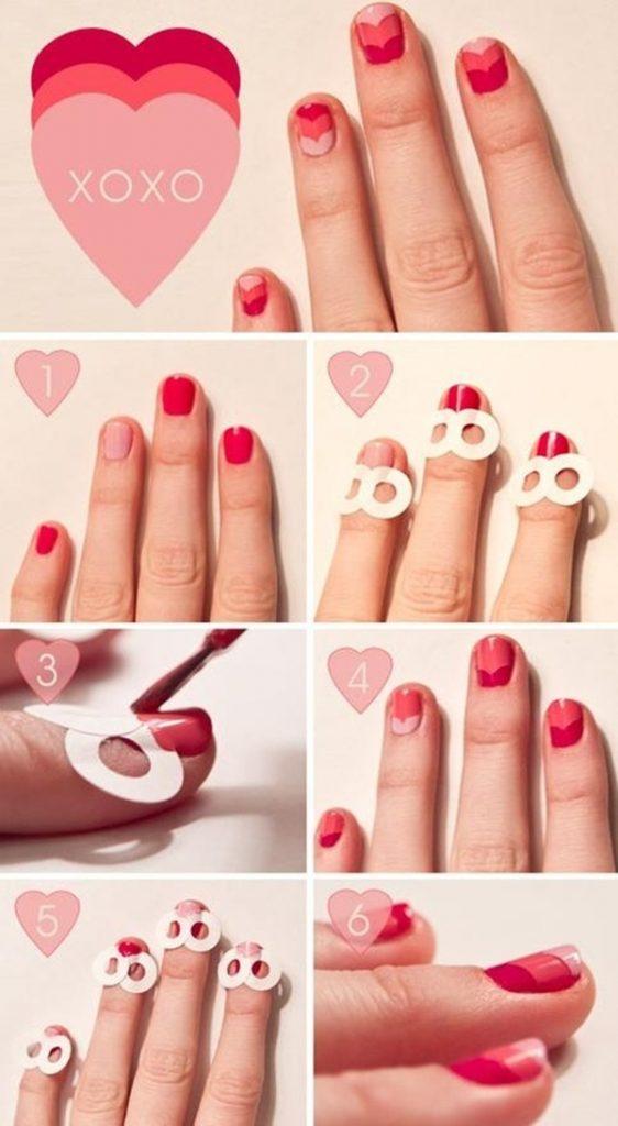 13 valentine nail designs