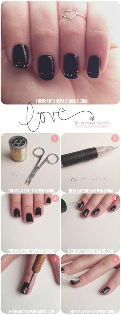love in morse code