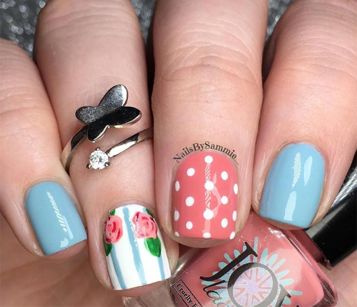 Nail Art Ideas For Short Nails: 25+ Nail Designs For Short Nails