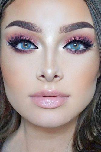 rose gold makeup13