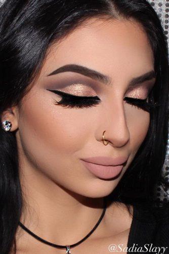 rose gold makeup14