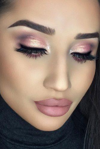 rose gold makeup15