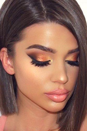 rose gold makeup17