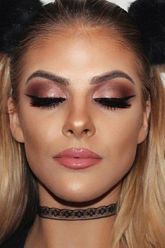 rose gold makeup18