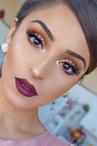 rose gold makeup2