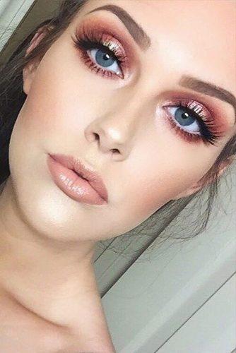 rose gold makeup3